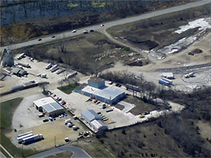 Eagle Trailer Company, Lawrence, Kansas - Aerial View
