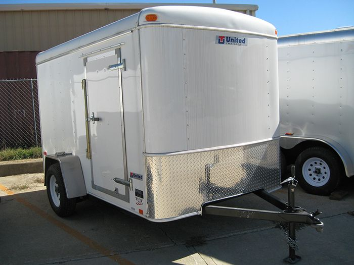 Atlas Specialty Trailer Enclosed Trailers stocked at Eagle ...