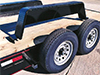 Flatbed Trailer Details: Removable Fenders - Eagle Trailer Company, Lawrence, Kansas