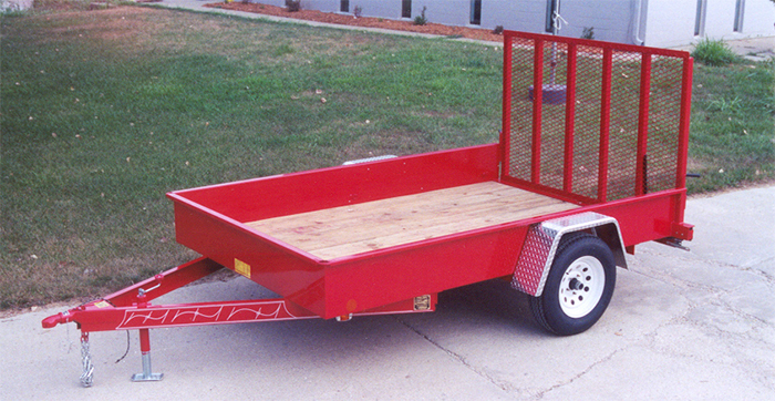 Eagle Utility Trailers Built In Two Sizes Service Parts