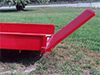 Utility Trailer Details: Solid Side Trailer with 4' Easi-lift fold-up gate. Aluminum fenders - Eagle Trailer Company, Lawrence, Kansas