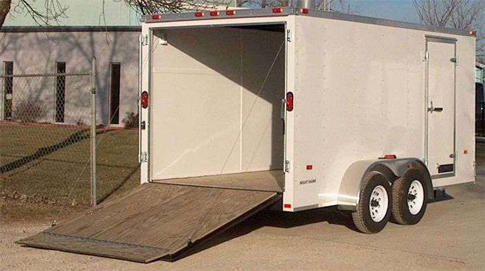 Atlas Specialty Trailer Enclosed Trailers Stocked At Eagle Trailer Co Kansas